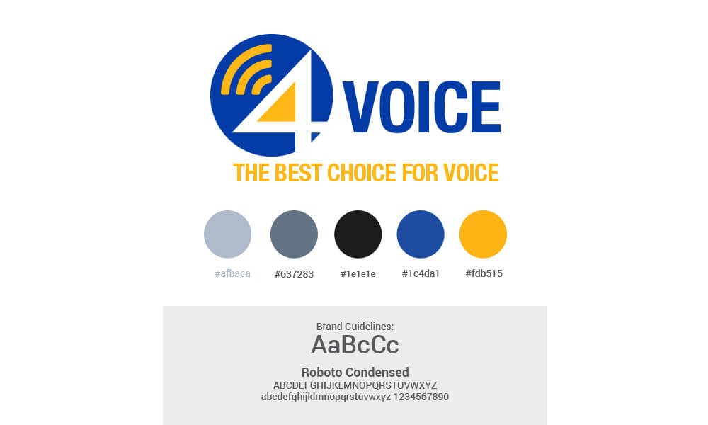 4Voice  Guidelines