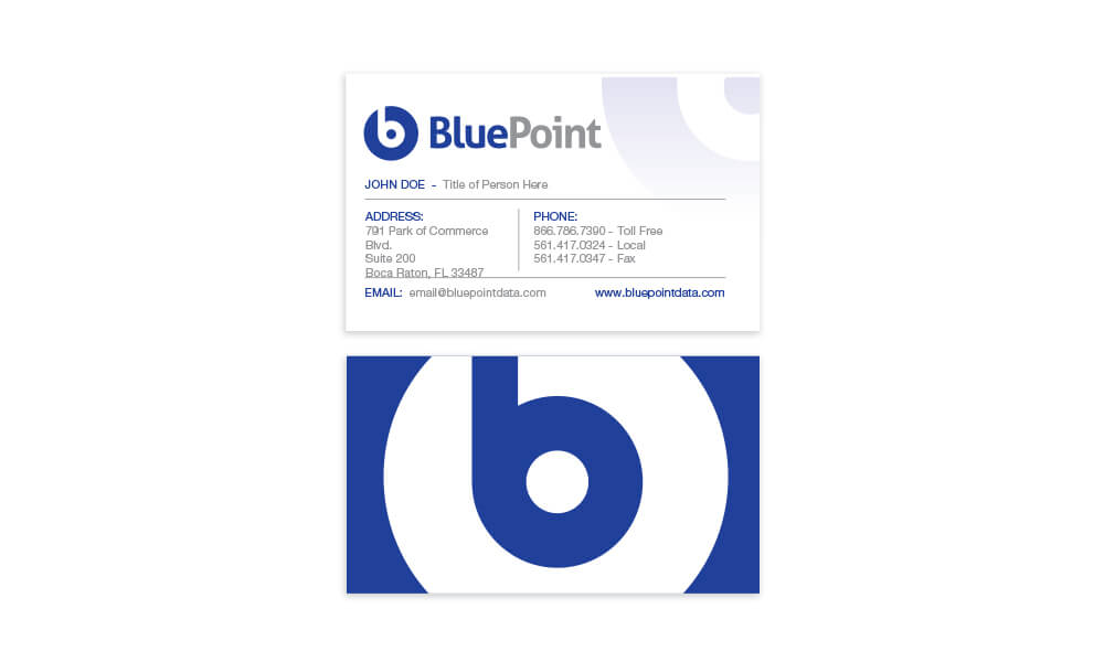 BluePoint Busines Card