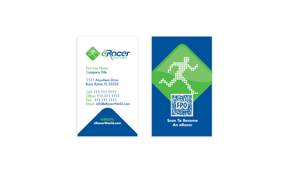 eRacer Business card