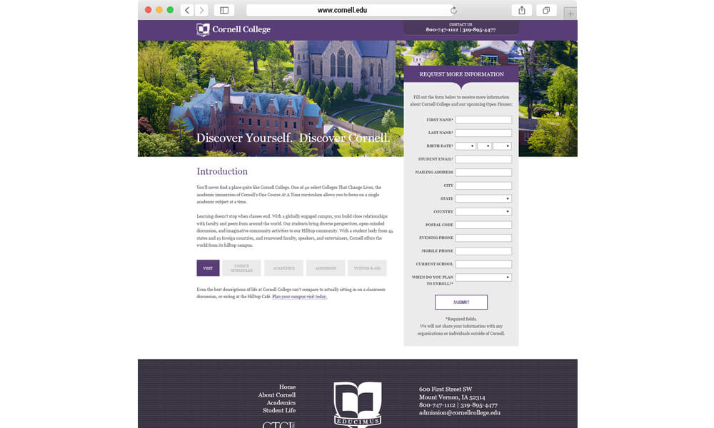 Cornell Browser