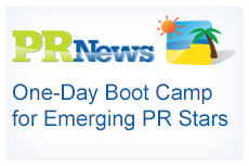 MoreVisibility - PRNews One-Day Boot Camp for PR Stars