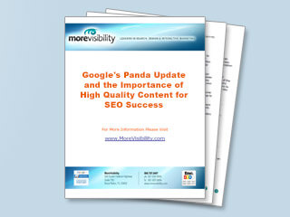 Google's Panda Update and the Importance of High Quality Content for SEO Success