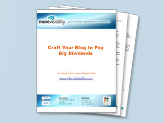 Craft Your Blog to Pay Big Dividends