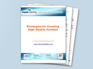 Strategies for Creating High Quality Content