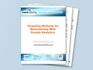 Targeting Methods for Remarketing With Google Analytics