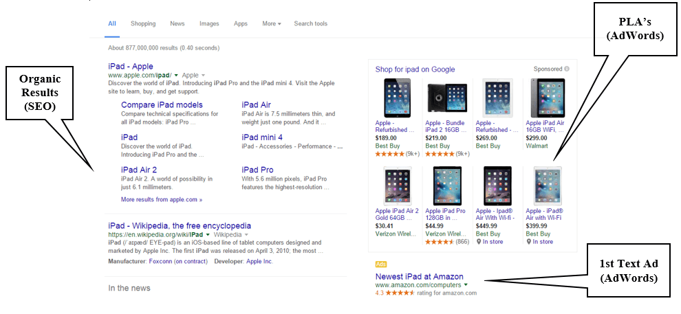 Search Result screenshot