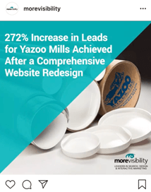 MoreVisibility Case Study IG Ad