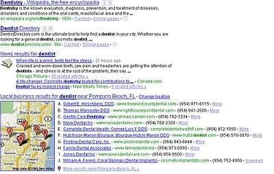 Dentist-LocalSearchResults