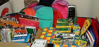 "Annual ""Back to School"" Supply Drive"