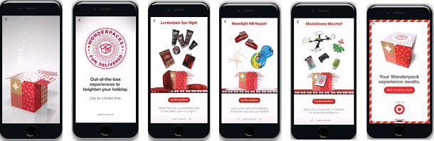 Facebook Canvas - Target Wonderpack Ad