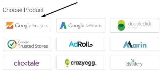 Google Tag Manager Product Type