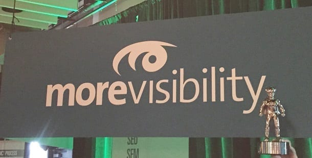 Morevisibility 2015 Searchie Award