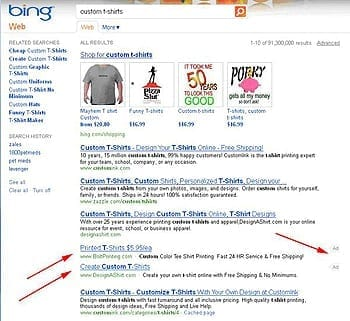 AdWords and AdCenter Testing New Ad Placements on SERPs