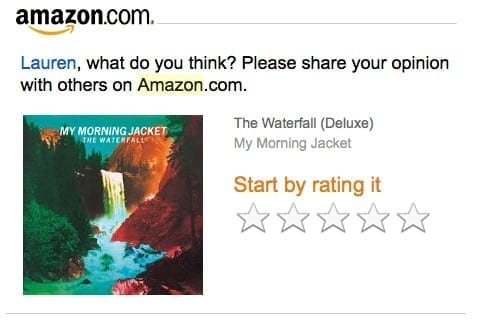 amazon review request