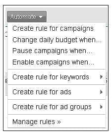How to Utilize Automated Rules to Manage Your AdWords PPC Campaigns