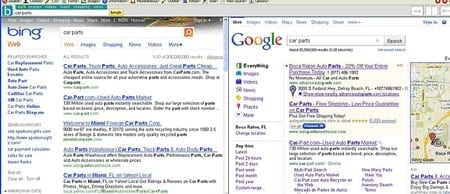 Bing V. Google Part II: Local Search Results