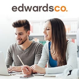 EdwardsCo  – MoreVisibility planned a paid placement campaign entirely focused on soft lead generation.