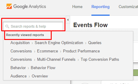 event flow example