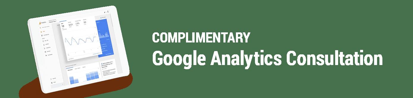 Google Analytics Consultation