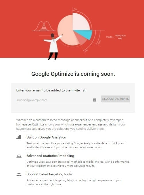 Google Optimize is coming soon