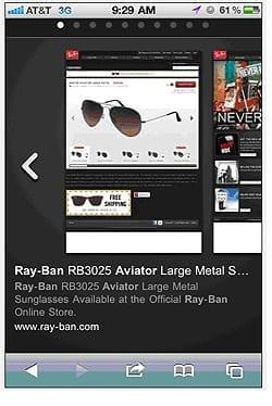 Mobile AdWords Ads Mirror Desktop Ads