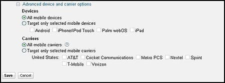 Mobile in AdWords