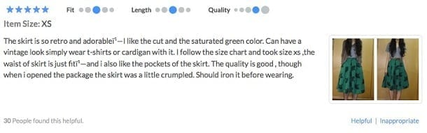 user review example