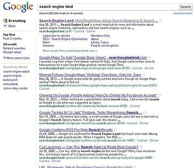 Search Engine Land Webiste